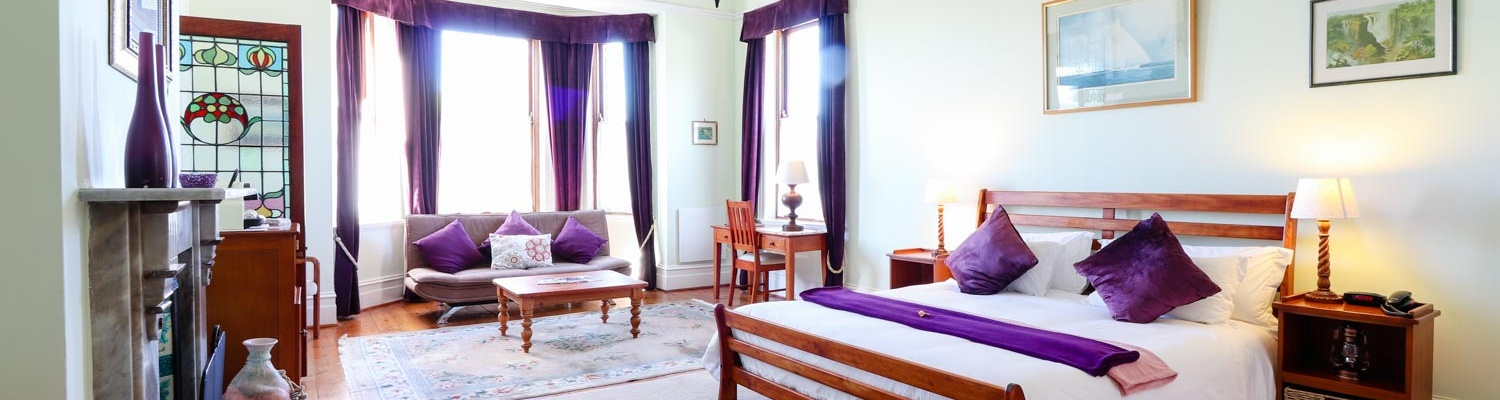 Family Suite, sleeping up to five adults within inter-leading bedrooms. Idea for large families!