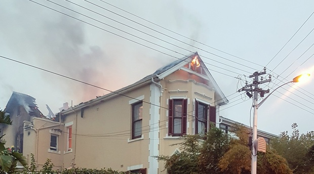 Fire at Carmichael Guesthouse